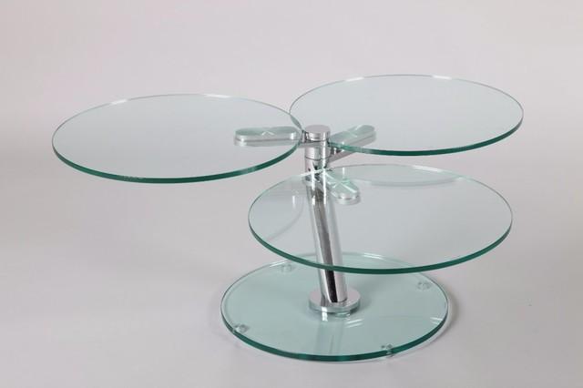 Table basse nemesis en verre contemporary coffee tables by inside75 - Verre securit pour table ...