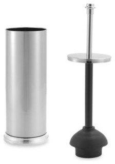 winthrop toilet plunger contemporary toilet plungers holders by bed bath beyond. Black Bedroom Furniture Sets. Home Design Ideas