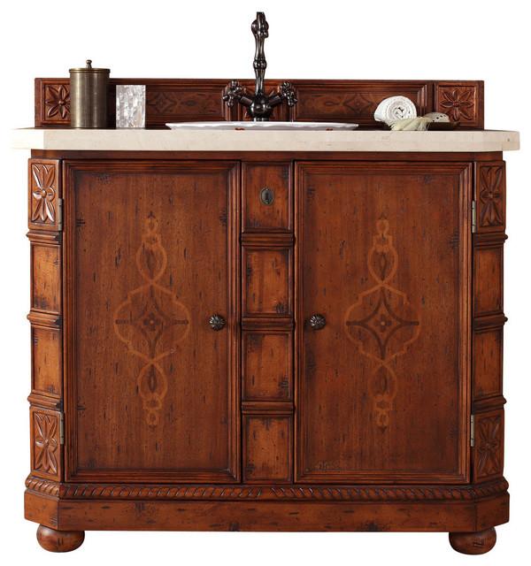 "Charleston 42"" Single Vanity Cabinet, 42"", No Top ..."