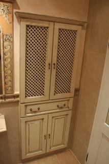 french country villa stone veneer bathroom coronado stone veneer, Badezimmer