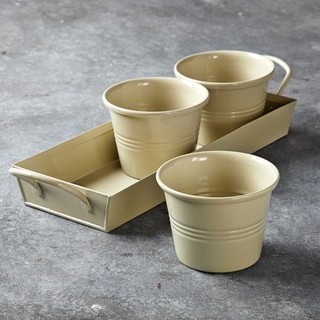 Herb Pots Traditional Indoor Pots And Planters By