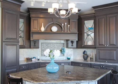 Artistic Anatomy Gray Kitchen Cabinets Ideas - Warm gray kitchen cabinets