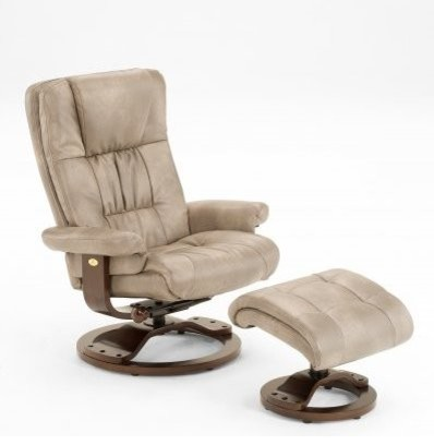 Leather swivel recliner with ottoman transitional recliner chairs