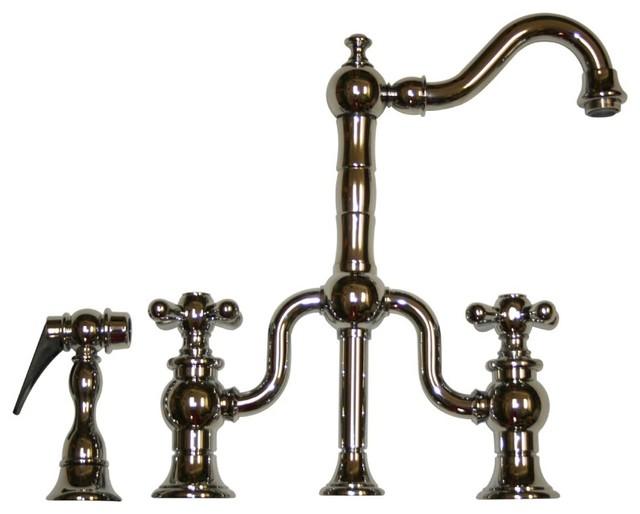 Bridge Kitchen Faucets Houzz