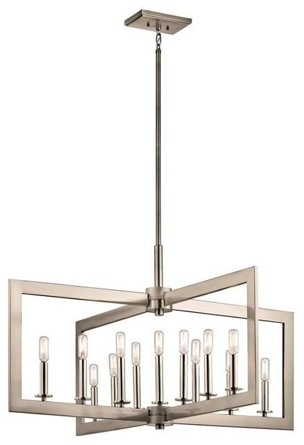 Kichler cullen 43901 kitchen island light 43901clp for Kichler kitchen pendant lighting