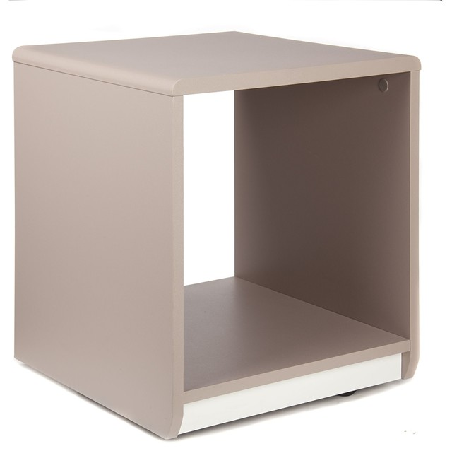 Cool table de chevet en forme de cube moderne table de chevet et table de nuit par alin a - Table de nuit alinea ...