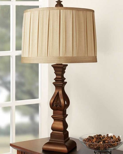 Bedroom Classic Resin Table Lamp