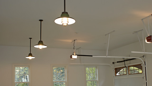 Vintage Garage Lights Traditional Pendant Lighting
