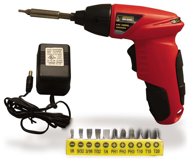 Pro-Series 4.8 Volt Palm Drill - Contemporary - Power Tools - by ...