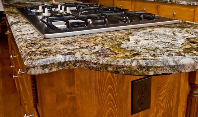 Granite Countertop Edges : Granite Edge: 1/2
