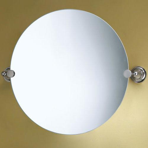 20 Tiara Round Tilting Mirror Transitional Bathroom Mirrors By Signature Hardware