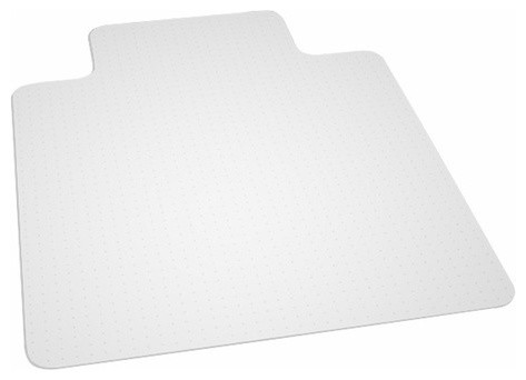 anchormat high pile carpet beveled edge chair mat modern chair mats