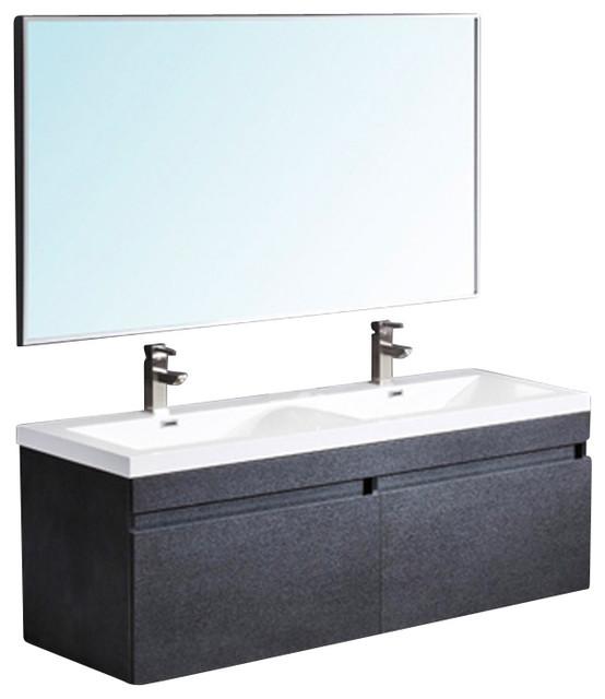 Fresca largo bathroom vanity black modern bathroom for Decorplanet bathroom vanities