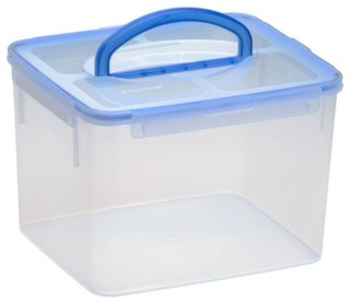 Airtight Plastic Food Storage Container - 29 Cup - Rectangle - Transitional - Food Storage ...