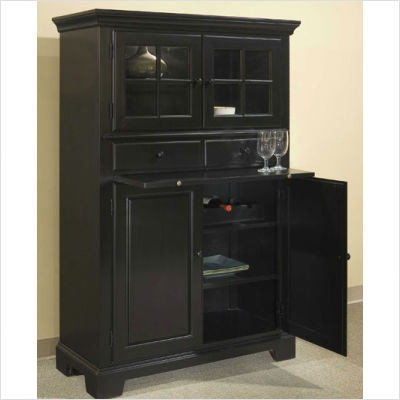 Attractive Cabinet Pantry Storage With Broyhill Cuisine Storage Cabinet In Ebony  Traditional Pantry With Pull Out Pantry