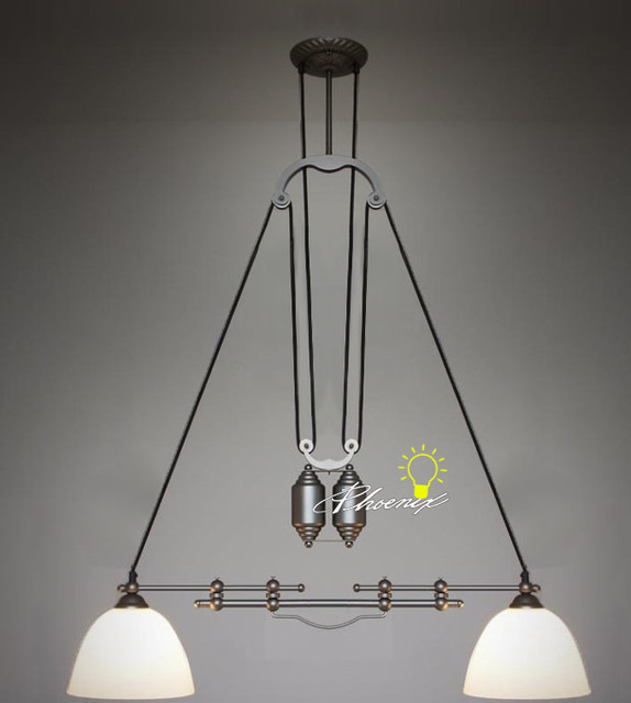 LOFT RH Adjustable Double Heads Pendant Lighting