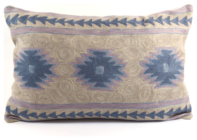 Southwestern Lumbar Pillow : Navajo Lumbar Pillow - Southwestern - Decorative Pillows - by Shop HDB