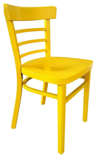 Vintage Cafe Chair in Yellow - $450 Est. Retail - $175 on ...
