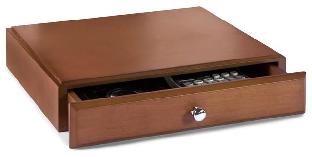 Bindertek Stacking Wood Desk Organizers Supply Drawer