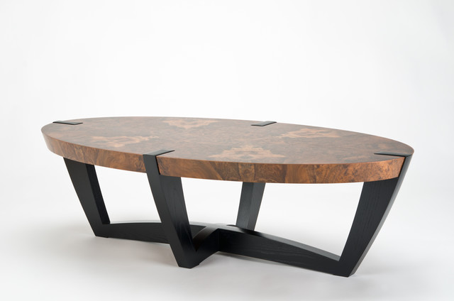 Elliptical Coffee Table Contemporary Coffee Tables Other Metro By Enrico K Nig