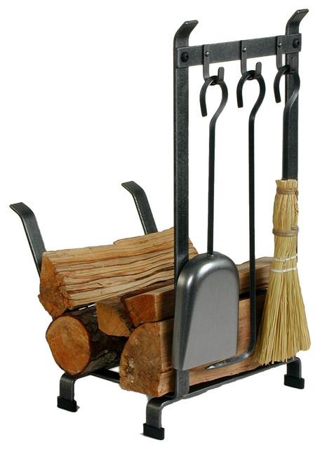 Enclume Lr11t Hs Log Rack W Tools Ch Traditional
