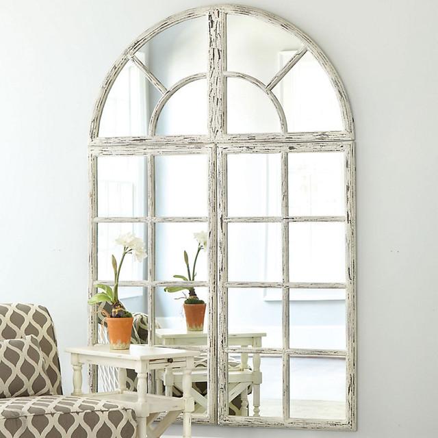 Grand Chateau 3 Piece Set Window Mirror Traditional