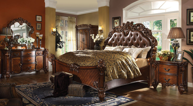 Contemporary Bedroom Set London Black By Acme Furniture: ACME Furniture Vendome Bedroom Collection