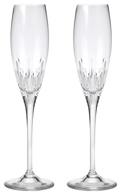 Wedgwood vera wang duchesse flute set 2pce contemporary wine glasses by peter 39 s of - Vera wang duchesse wine glasses ...