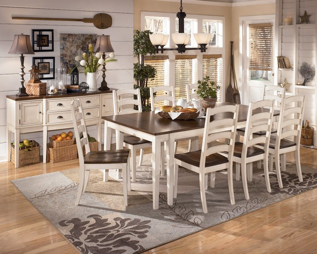 Ashley Whitesburg Dining Room Collection Dining Tables New York By Bedr