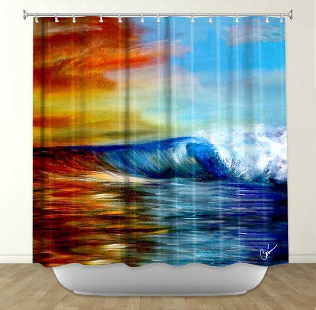 Shower Curtains Tropical Shower Curtains Denver By Dianoche Designs