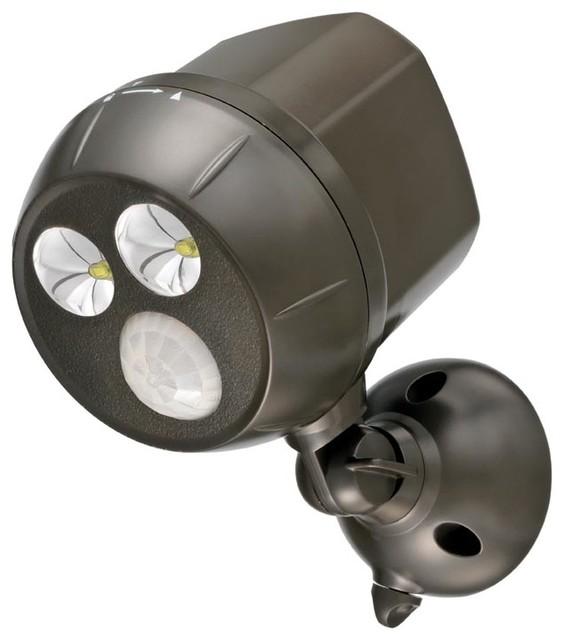 led ultra bright battery operated spotlight transitional. Black Bedroom Furniture Sets. Home Design Ideas