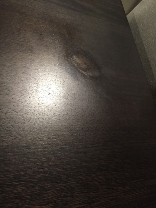how to fix finish on wood table from nail polish remover 2