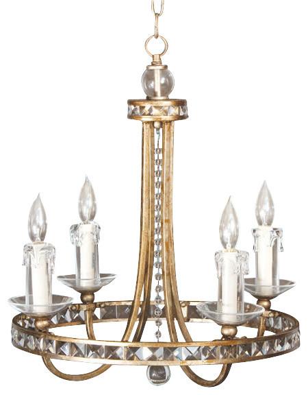 Af Lighting 7450 4H Candice Olson Aristocrat Mini Chandelier Modern Chand