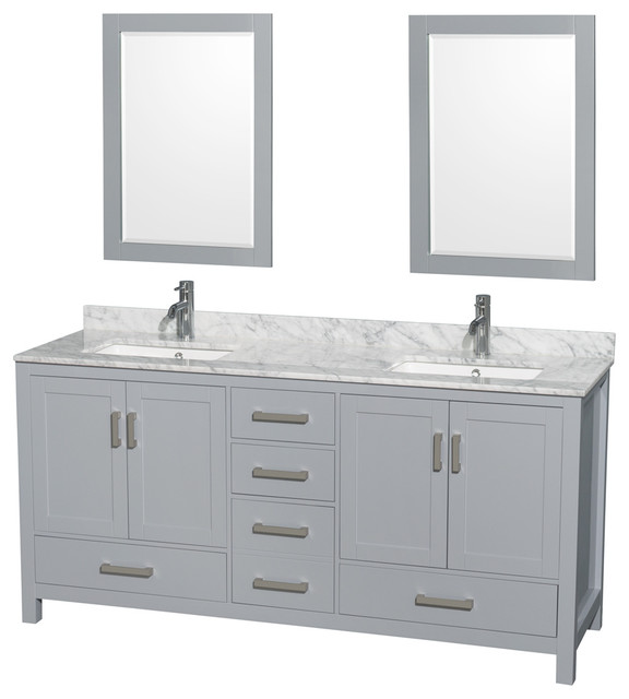 ... Square Sinks - Contemporary - Bathroom Vanities And Sink Consoles - by
