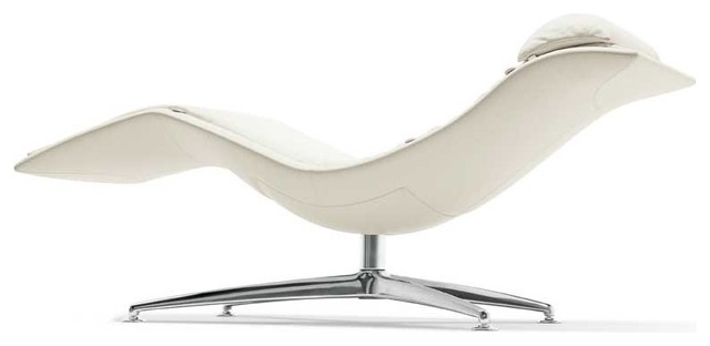 Poltrona frau larus chaise longue modern indoor chaise for Chaise longue frau