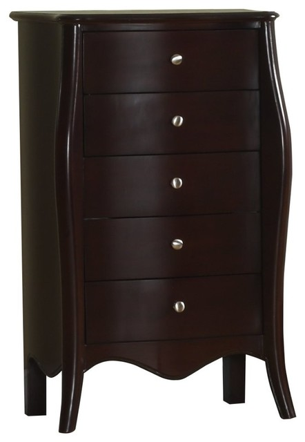 Jewelry Cabinet, Mahogany Finish - Traditional - Jewelry Armoires - by 2K Furniture Designs