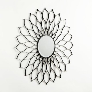 Floral Burst Mirror Eclectic Wall Mirrors By Kirkland S