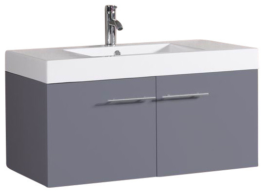 Floating Vanity Unit : ... Floating Bathroom Vanity with Faucet modern-bathroom-vanity-units-and