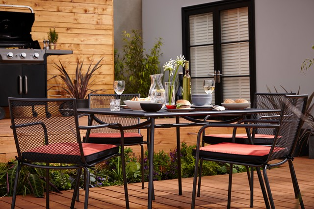 Dining table sets adelaide metal garden