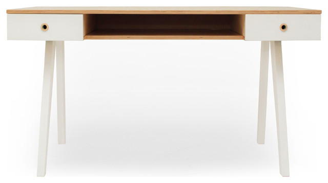 Bureau so sixties contemporain meuble bureau et for Meuble bureau contemporain