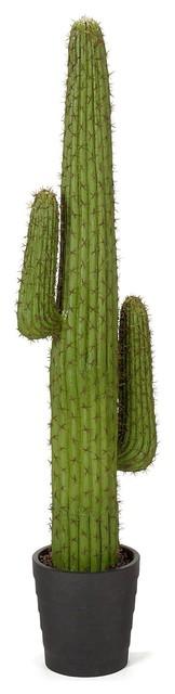 Cactus cactus artificiel 1m30 contemporain plante et for Cactus artificiel