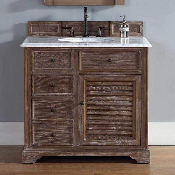 36 inch bathroom vanity in driftwood finish rustic bathroom vanities and sink consoles los