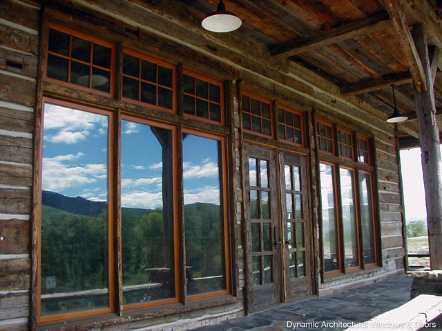 Rustic Wood Windows And Distressed Doors Rustic By