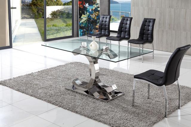 Xerox Glass Dining Table Modern Dining Tables by  : modern dining tables from www.houzz.co.uk size 640 x 426 jpeg 103kB