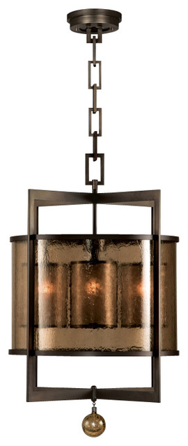 Fine Art Lamps 591140ST Singapore Moderne Patinated Bronze