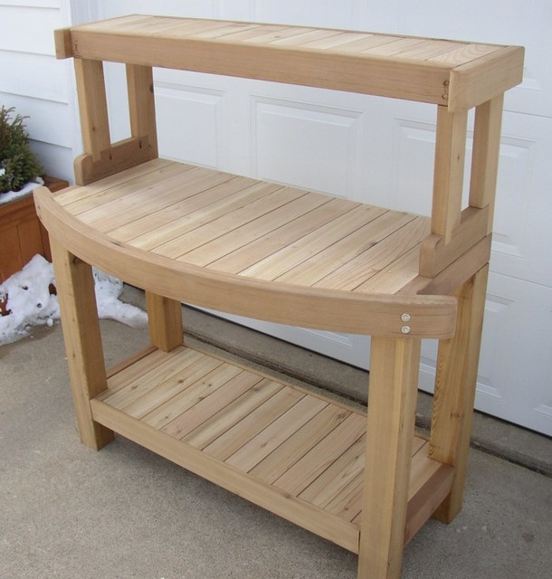 Outdoor Furniture, Trellises, Planters, Potting Benches - Potting Benches - Other - by Davis ...