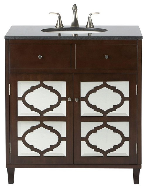 Home Decorators Collection Cabinets Reflections 32 In W X 35 In H Vanity In Contemporary