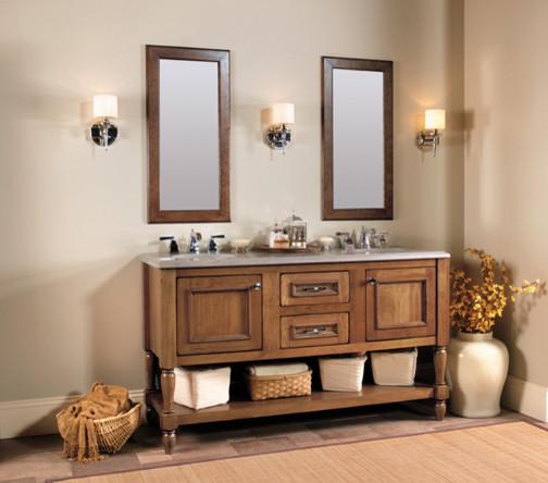 Elegant Bath Collection Featuring Designer Suites Traditional Bathroom Vanities And Sink