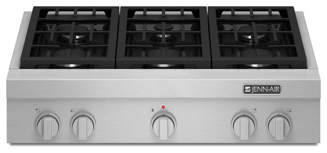 viking pro gas cooktop