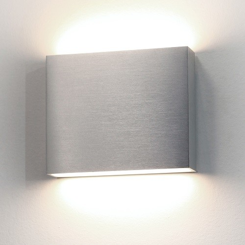 Wall Sconces Down Lighting : ASTRO Modern LED Up And Down Aluminium Exterior Wall Light - Contemporary - Outdoor Wall Lights ...